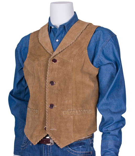 Suede Laced Vest by Rockmount Ranch Wear