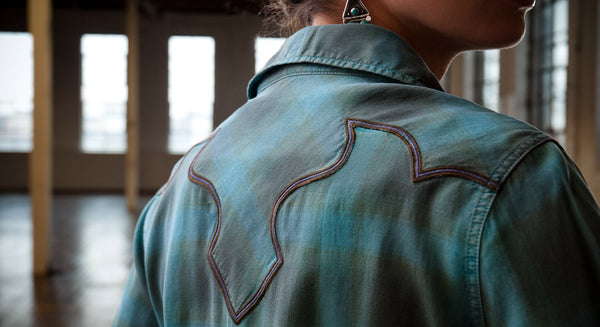 Spruce Flame Western Shirt by Ryan Michael