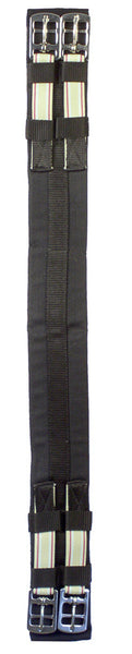 Padded Cotton Elastic Ends Dressage Girth by Smith-Worthington