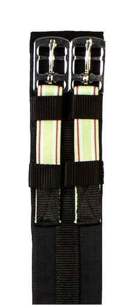 Padded Cotton Elastic Dressage Girth by Smith-Worthington