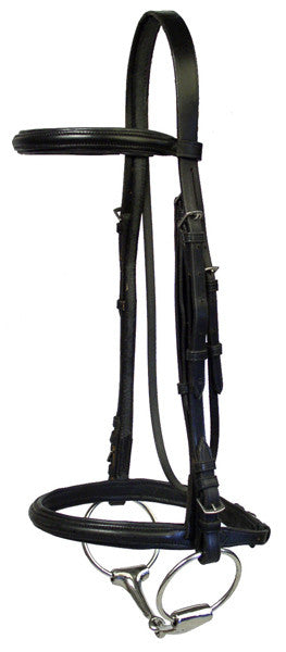 McBride Raised Padded Bridle by Smith-Worthington