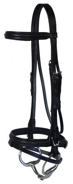 McBride Raised Padded Flash Bridle by Smith-Worthington