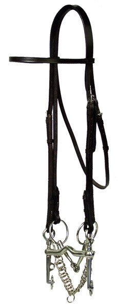 McBride Superfine Weymouth Bridle by Smith-Worthington