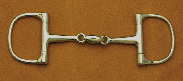 Dee Snaffle Bit with Oval Link by Smith-Worthington