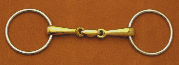 Loose Ring Copper Link Snaffle Bit by Smith-Worthington