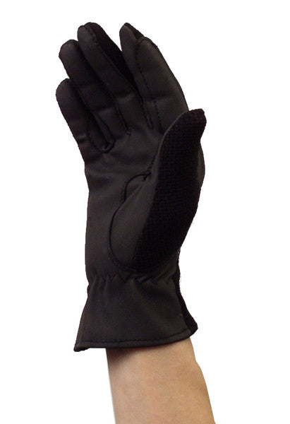 Ladies' Synthetic Gloves in Black by Smith-Worthington