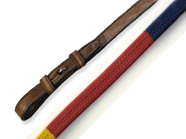 Wexford Rainbow Rubber Reins by Smith-Worthington