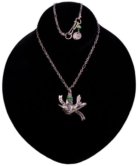 A Rare Bird Necklace by Sweet Bird Studios