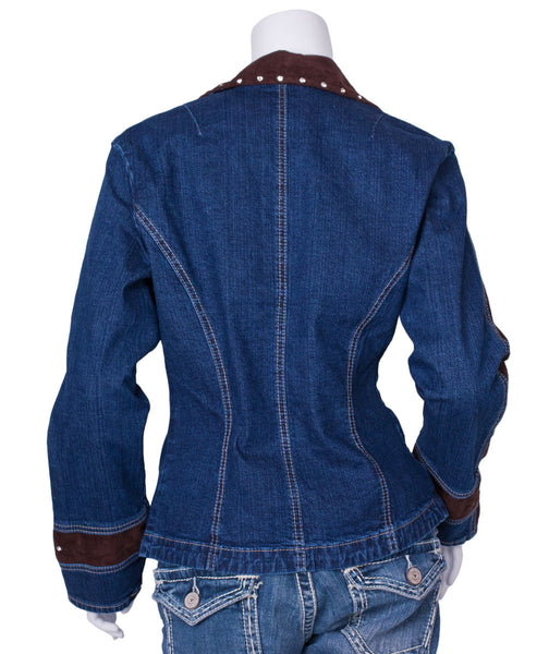 Elegant Vintage Denim Jacket by Ethyl Denim