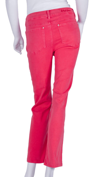 Red Skinny Jeans by Ethyl Denim
