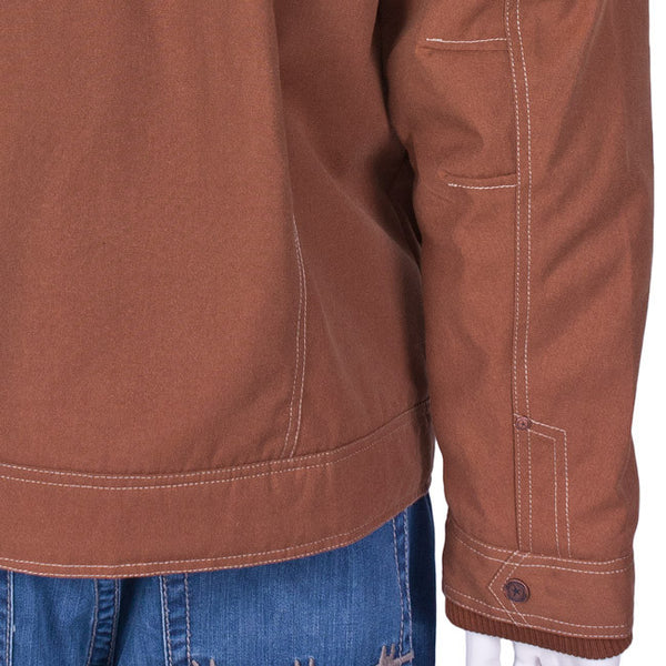 Dakota Garage Jacket in Chamois by Twist