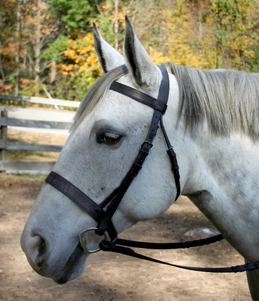 Elite Hunting Snaffle Bridle by Smith-Worthington
