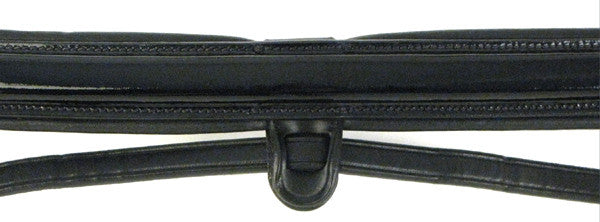Patent Leather Dressage Bridle with Stop Reins by Smith-Worthington