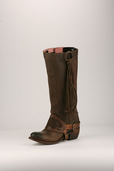 Southbound Cowboy Boot in Chocolate (by Junk Gypsy Co.)