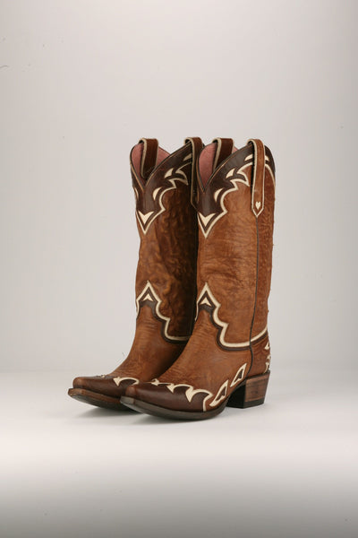 Back 40 Cowboy Boot in Brown by Junk Gypsy Co.