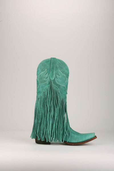 Dreamer Cowboy Boot in Turquoise by Junk Gypsy Co.