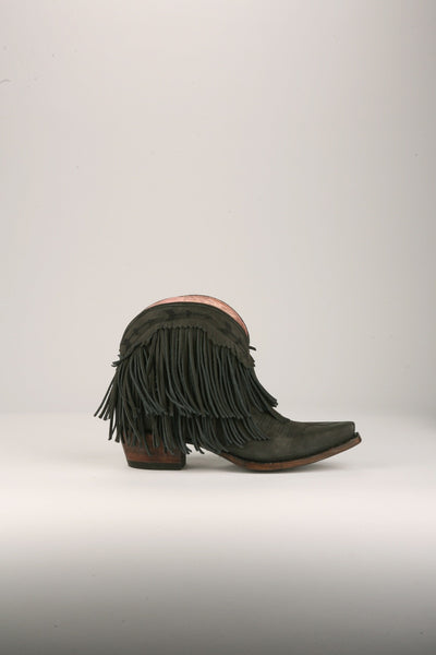 Spitfire Cowboy Boot in Matte Black by Junk Gypsy Co.