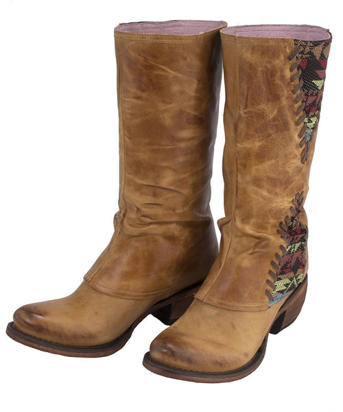 El Paso Cowboy Boot in Buckskin Tan by Junk Gypsy Co.