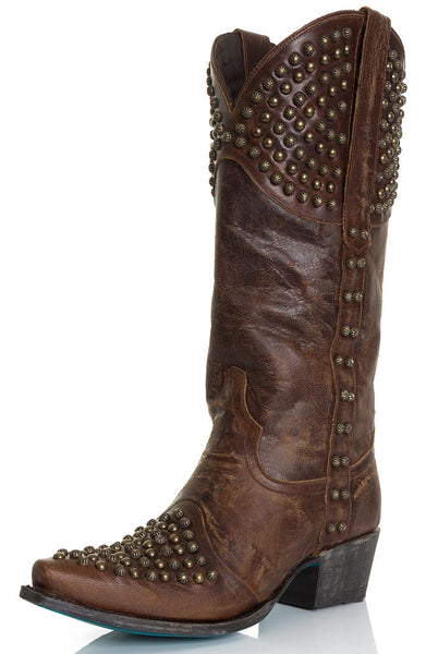 Rock On Cowboy Boot in Brown by Lane Boots
