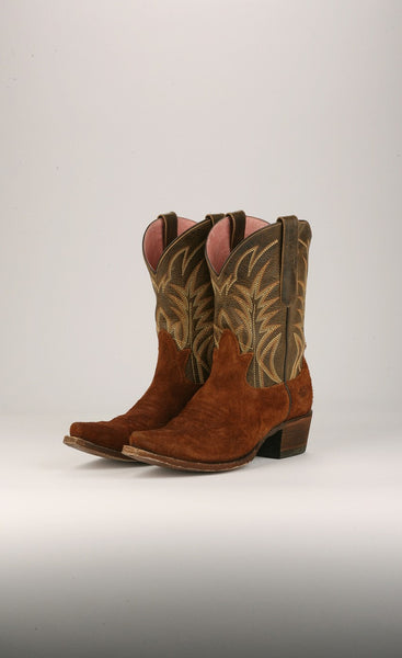 Dirt Road Dreamer Cowboy Boot in Olive by Junk Gypsy Co.