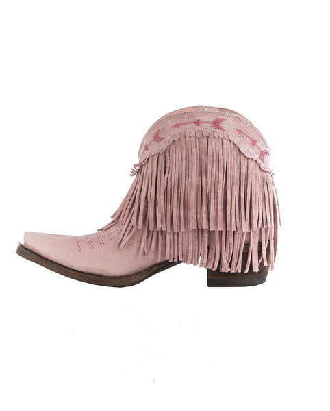 Spitfire Cowboy Boot in Rose Pink by Junk Gypsy Co.