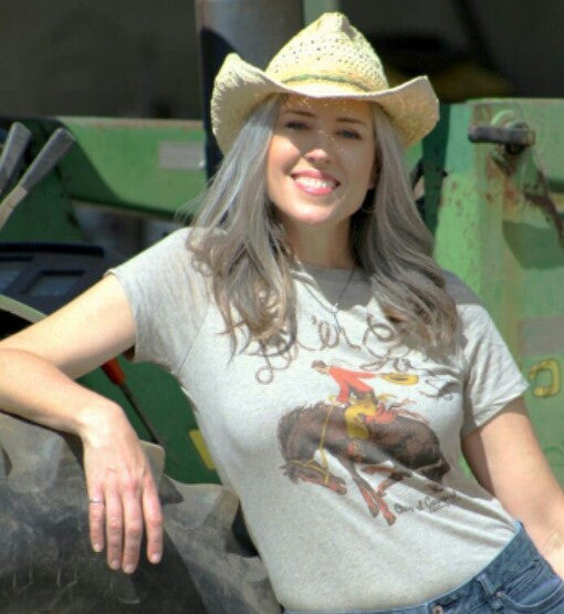 Let 'er Go Tee Shirt by Original Cowgirl Clothing Co.