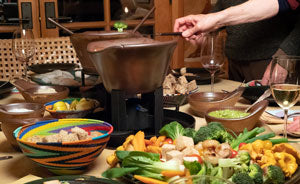 Cook on Clay Tablescape
