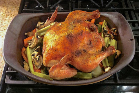 Oval Roaster / Stovetop Pot
