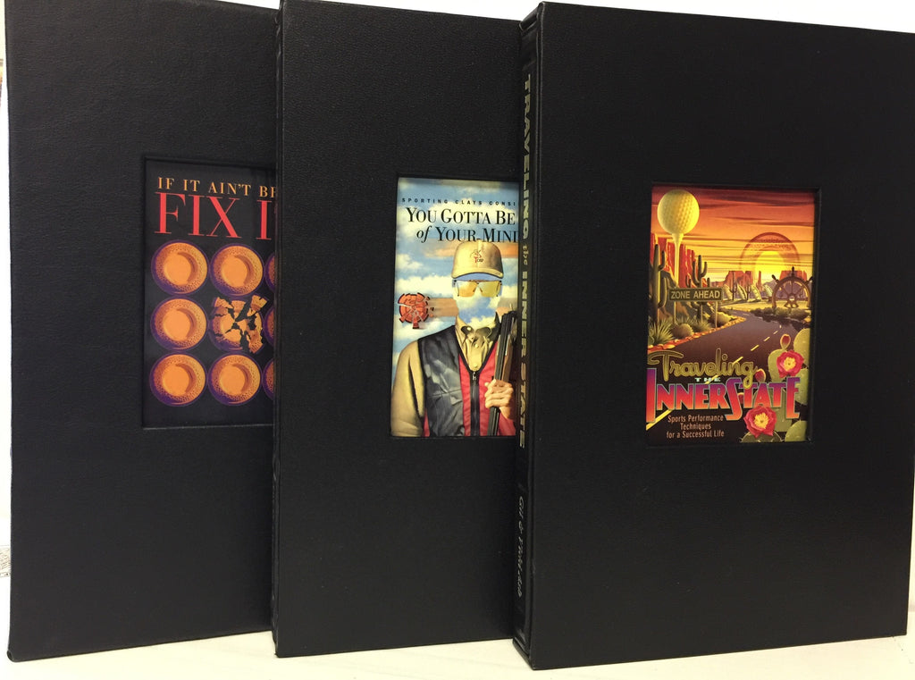 Collector's Edition Books - Set of Three