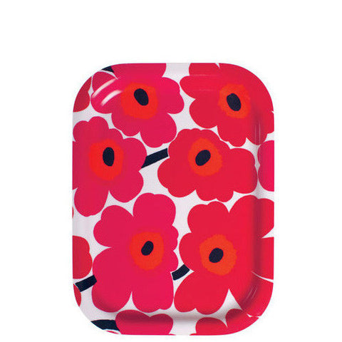 Marimekko Kitchen - Tray - Mini Unikko 001 Red
