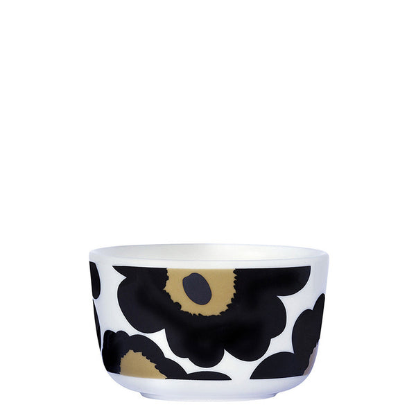 Marimekko Kitchen - Bowl - Unikko 030 Black (250ml)