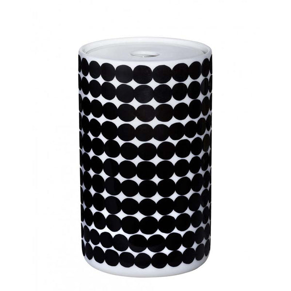 Marimekko Kitchen - Siirtolapuutarha Storage Jar 190 White/Black (1.3L)