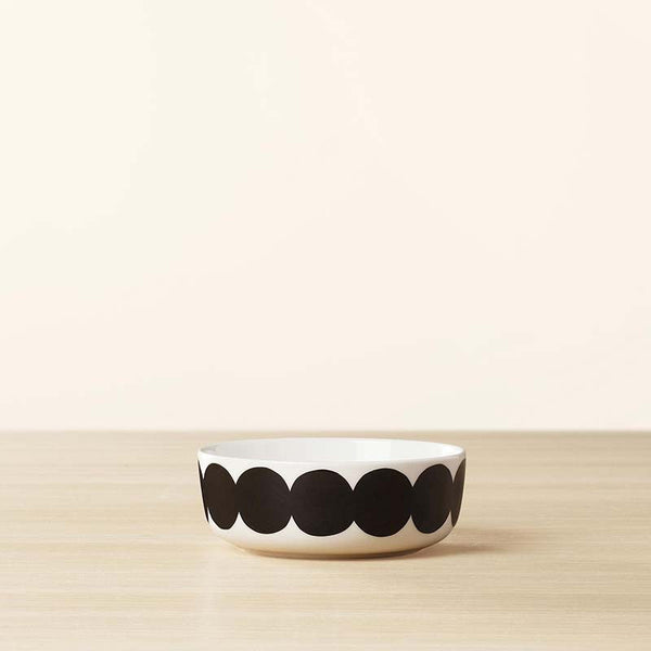 Marimekko Kitchen - Bowl - Rasymatto 190 Black/White (400ml)