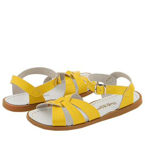 Salt Water Sandals - Adults - Yellow