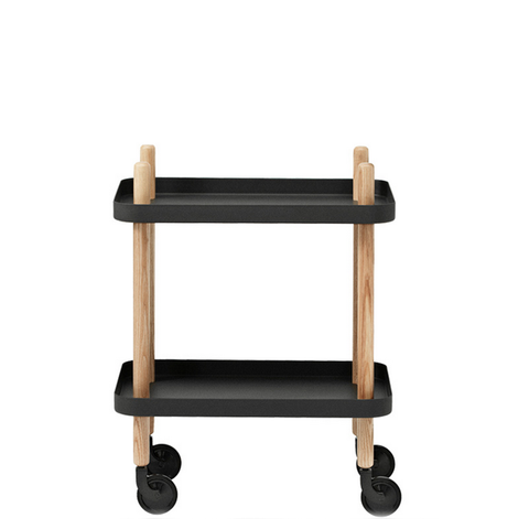 Normann Copenhagen Furniture - Block Table - Black