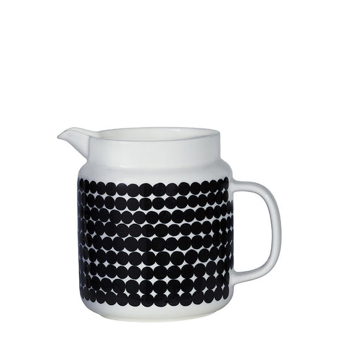 Marimekko Kitchen - Pitcher - Rasymatto 190 Black/White