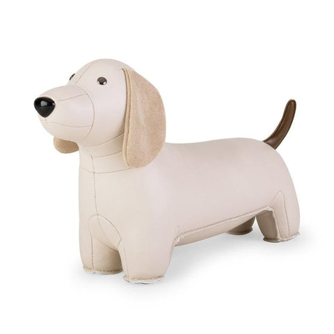 Zuny Bookend - Dachshund - Wheat