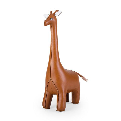 Zuny Bookend - Giraffe - Tan