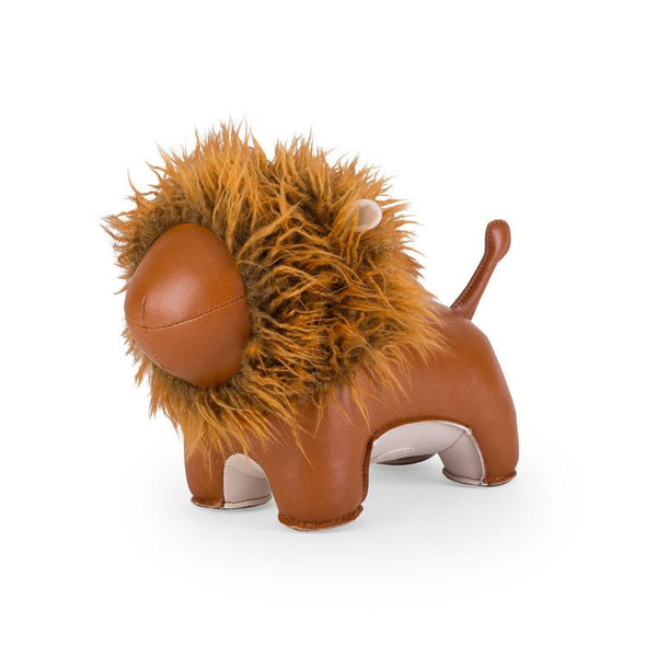 Zuny Bookend - Lion - Tan