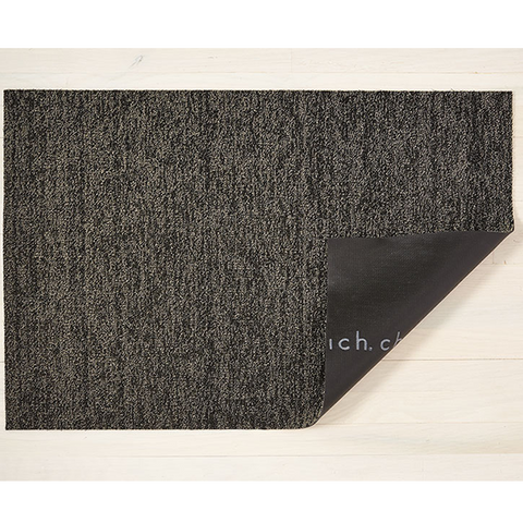 Chilewich Shag Utility Mat - Heathered - Black/Tan
