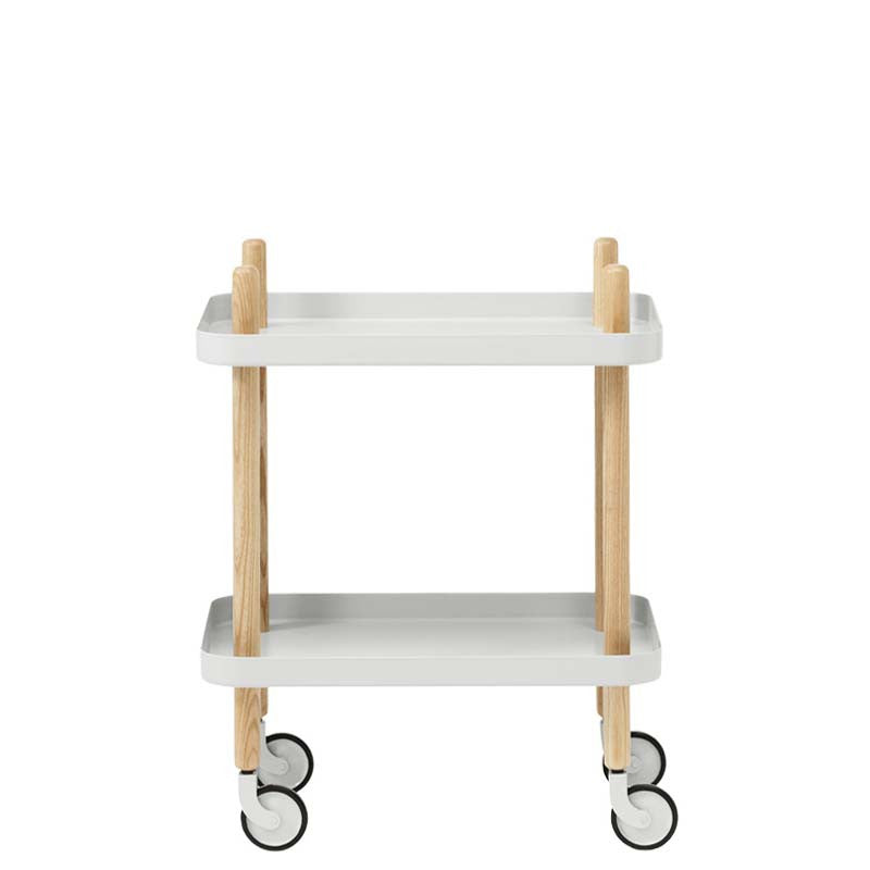 Normann Copenhagen Furniture - Block Table - Light Grey