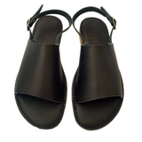 Kiitos Leather Sandals - Sophia - Black
