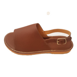 Kiitos Leather Sandals - Sophia - Brown