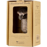 Wildlife Garden - Hand Carved Hook - Emu
