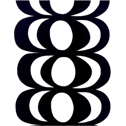 Marimekko Fabric - Cotton - Kaivo  190 Black/ White