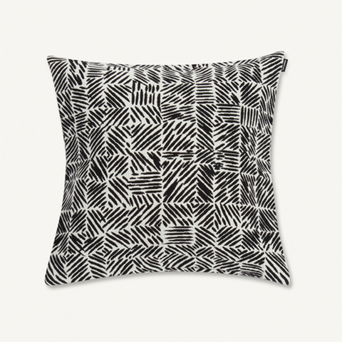 Marimekko Cushion Cover - Juustomuotti 45 x 45 cm 190 Black/Off White