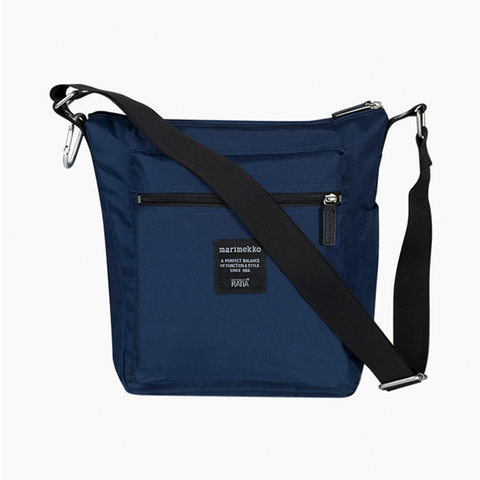 Marimekko Roadie Pal Shoulder Bag - 555 Navy