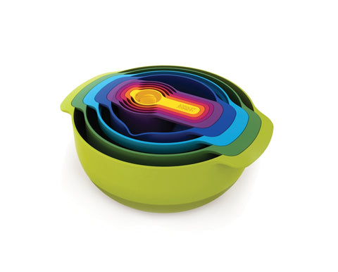 Joseph Joseph - Nest 9 Plus - Nesting Bowl Set