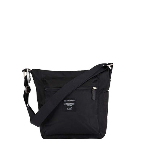 Marimekko Bag - Roadie Pal Shoulder Bag - 999 Black