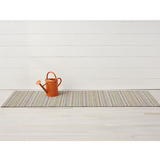 Chilewich Shag Runner Mat - Skinny Stripe - Soft Multi